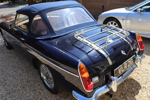 1968 MGB Roadster, mk2, Midnight blue, VLR 2G SOLD (picture 3 of 6)