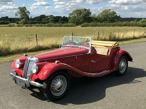 1954 MG TF 1250cc SOLD (picture 1 of 6)