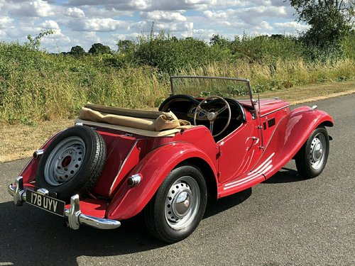 1954 MG TF 1250cc For Sale (picture 4 of 6)