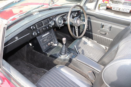 1972 MGB Roadster, bare shell rebuild in 2015 SOLD (picture 3 of 6)