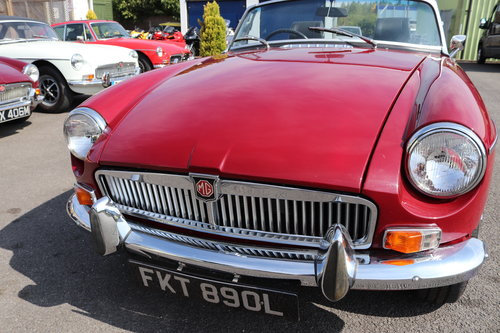 1972 MGB Roadster, bare shell rebuild in 2015 SOLD (picture 6 of 6)
