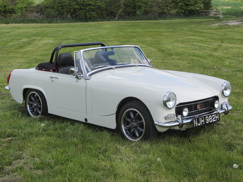 1969 MG Midget Frontline Modified  SOLD (picture 1 of 6)