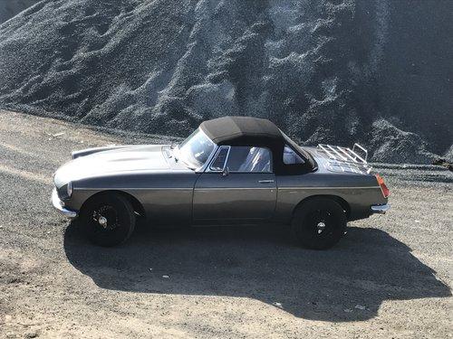 1978 MGB 3.5 V8 Roadster rebuild For Sale (picture 1 of 6)