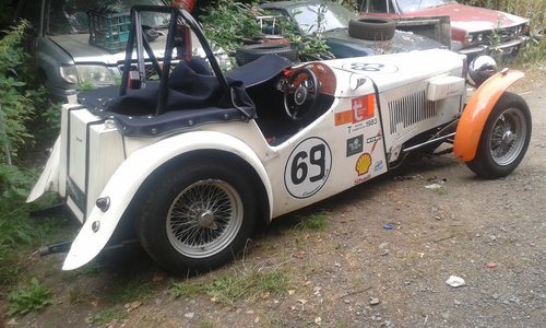 1948 Ex championship winning MG TC scruffy but very quick For Sale (picture 2 of 4)