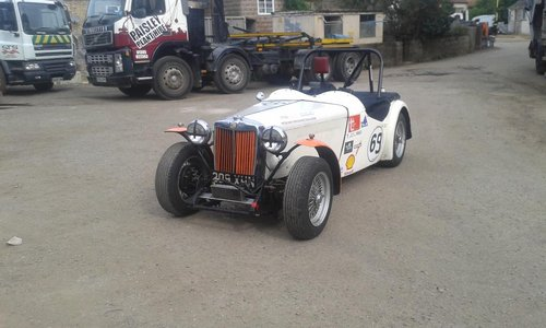 1948 Ex championship winning MG TC scruffy but very quick For Sale (picture 4 of 4)