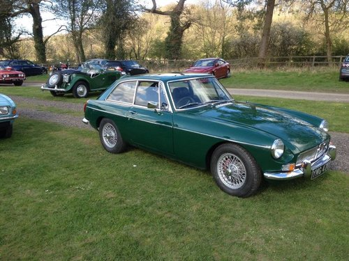 1969 MGBGT. B R Green, Wire Wheels, Overdrive. SOLD (picture 2 of 6)