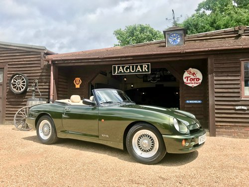 MG RV8, ONE UK OWNER, 24,000 MILES SOLD (picture 1 of 6)