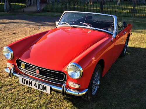 MG Midget 1275 Round Arch 1973 SOLD (picture 1 of 6)
