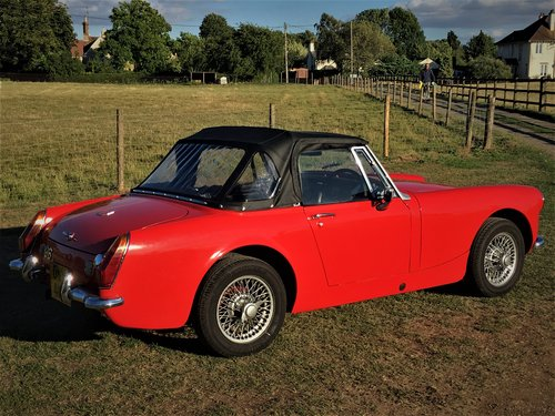 MG Midget 1275 Round Arch 1973 SOLD (picture 3 of 6)