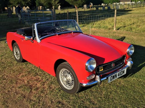 MG Midget 1275 Round Arch 1973 SOLD (picture 6 of 6)