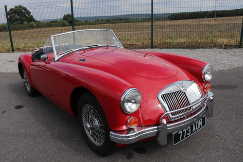 1960 MGA Roadster, 1600 mk1, UK CAR SOLD (picture 1 of 6)