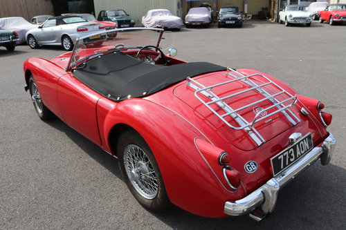 1960 MGA Roadster, 1600 mk1, UK CAR SOLD (picture 3 of 6)