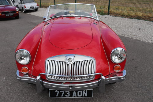 1960 MGA Roadster, 1600 mk1, UK CAR SOLD (picture 6 of 6)
