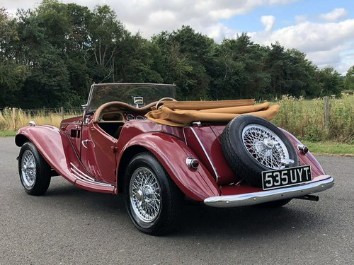 1953 MG TF 1250cc SOLD (picture 4 of 6)
