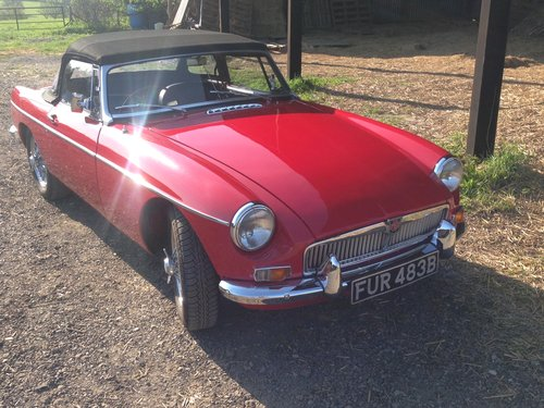 1964 Mk1 MGB Roadster  For Sale (picture 1 of 6)