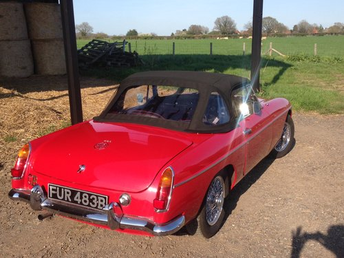 1964 Mk1 MGB Roadster  For Sale (picture 2 of 6)