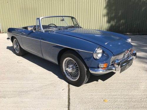 1968 MGC Roadster - Fully restored with history fron new For Sale (picture 1 of 6)