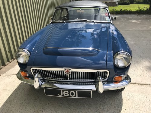 1968 MGC Roadster - Fully restored with history fron new For Sale (picture 2 of 6)