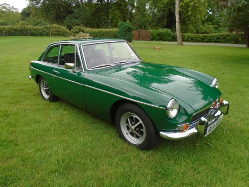 1973 MGB GT with Overdrive SOLD (picture 1 of 6)