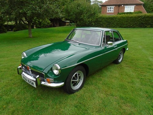 1973 MGB GT with Overdrive SOLD (picture 2 of 6)