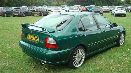 2002 MG ZS 2.5 V6 180 SOLD (picture 4 of 6)