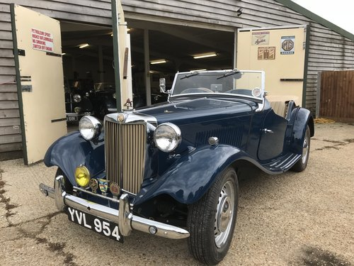 1950 MG TD - Original RHD - Now Sold! SOLD (picture 1 of 6)