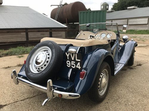 1950 MG TD - Original RHD - Now Sold! SOLD (picture 3 of 6)