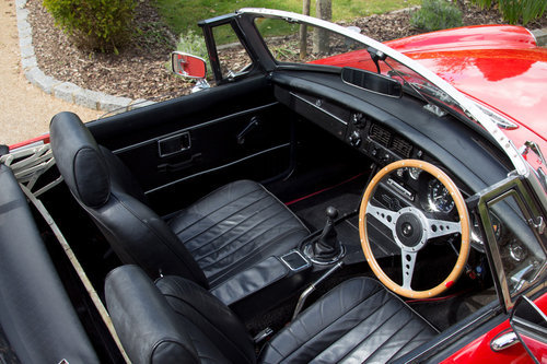 1972 MG B Roadster | Flame Red, Overdrive  SOLD (picture 5 of 6)