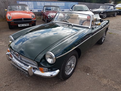 1969 MGB Roadster British Racing Green. Previously Restored  SOLD (picture 2 of 6)
