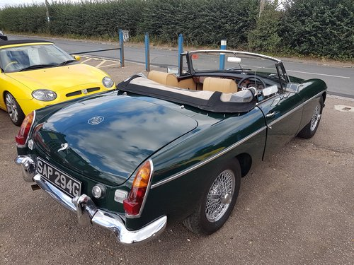 1969 MGB Roadster British Racing Green. Previously Restored  SOLD (picture 4 of 6)