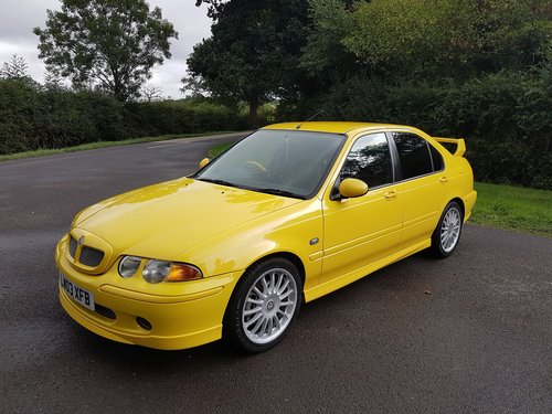2003 MG ZS 180 V6 - Low Mileage, Stunning condition SOLD (picture 1 of 6)
