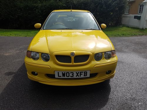 2003 MG ZS 180 V6 - Low Mileage, Stunning condition SOLD (picture 2 of 6)