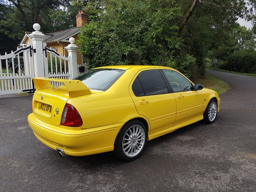 2003 MG ZS 180 V6 - Low Mileage, Stunning condition SOLD (picture 3 of 6)