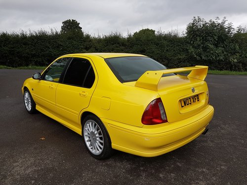 2003 MG ZS 180 V6 - Low Mileage, Stunning condition SOLD (picture 4 of 6)