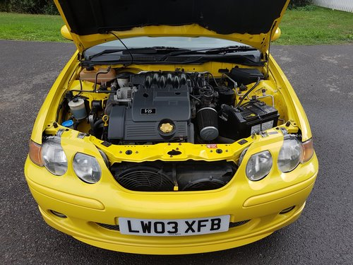 2003 MG ZS 180 V6 - Low Mileage, Stunning condition SOLD (picture 6 of 6)