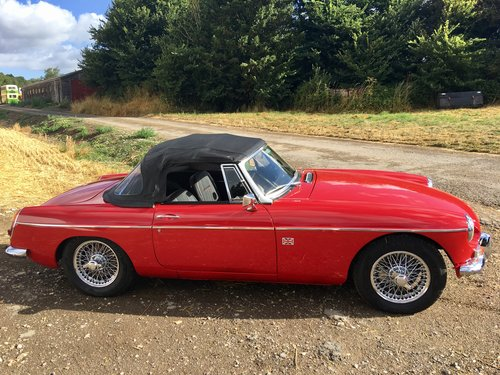 MGB 1.8 Roadster 1968 GHN4 RESTORED For Sale (picture 5 of 6)