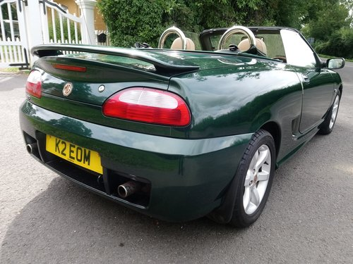 2003 MG TF 135 British Racing Green, tan trim, low mileage, lovel SOLD (picture 2 of 6)