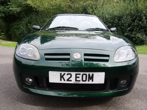 2003 MG TF 135 British Racing Green, tan trim, low mileage, lovel SOLD (picture 5 of 6)