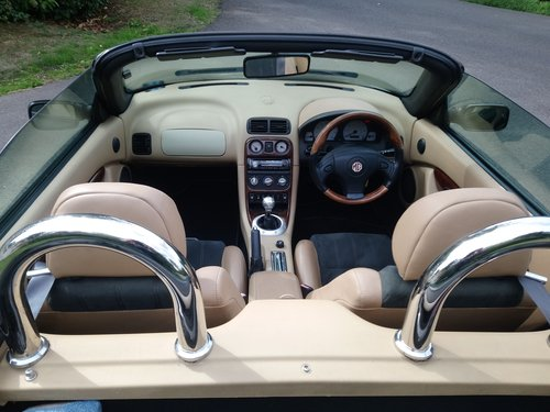 2003 MG TF 135 British Racing Green, tan trim, low mileage, lovel SOLD (picture 6 of 6)