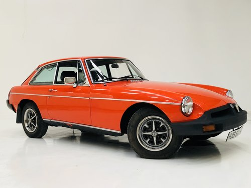 1979 MGB GT - A VERY HONEST CAR AND SUPER VALUE SOLD (picture 1 of 6)