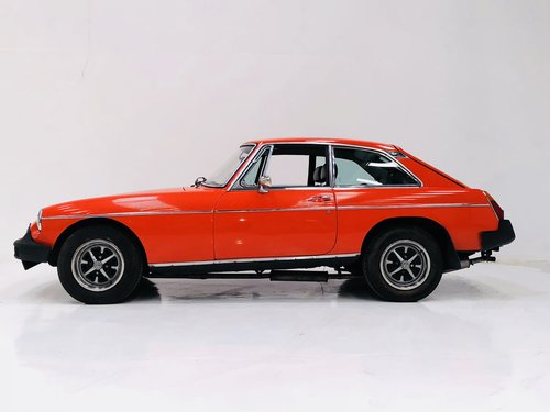 1979 MGB GT - A VERY HONEST CAR AND SUPER VALUE SOLD (picture 3 of 6)