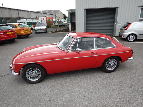 1972 MGB GT ~ Overdrive ~ Wire Wheels ~ Long MOT ~  SOLD (picture 1 of 6)