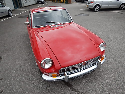 1972 MGB GT ~ Overdrive ~ Wire Wheels ~ Long MOT ~  SOLD (picture 2 of 6)
