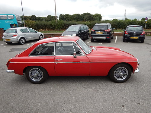 1972 MGB GT ~ Overdrive ~ Wire Wheels ~ Long MOT ~  SOLD (picture 3 of 6)