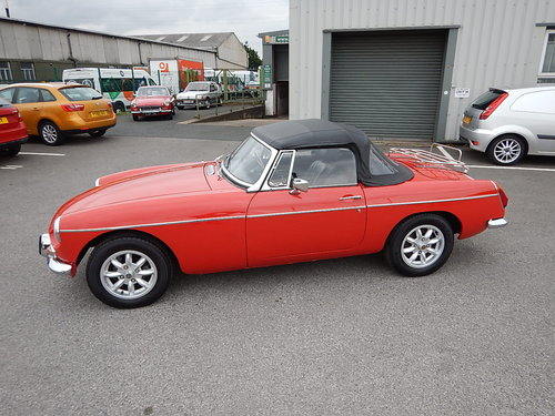 1974 MGB Roadster ~ Overdrive ~ Leather ~ Alloys ~  SOLD (picture 1 of 6)
