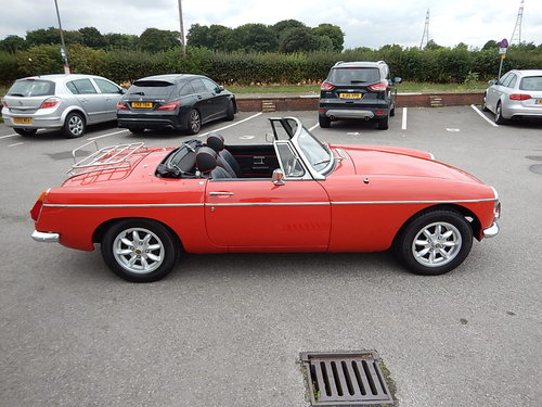 1974 MGB Roadster ~ Overdrive ~ Leather ~ Alloys ~  SOLD (picture 3 of 6)