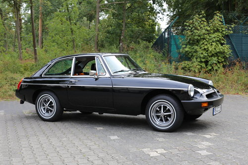1980 Unique MG B GT with just 483 miles now fully registered.. SOLD (picture 1 of 6)
