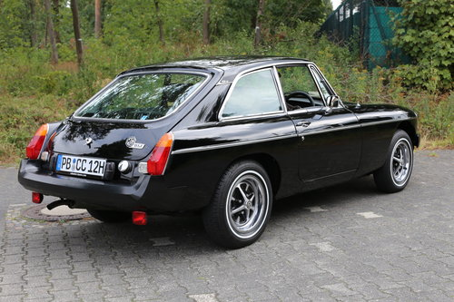 1980 Unique MG B GT with just 483 miles now fully registered.. SOLD (picture 4 of 6)