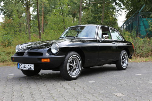 1980 Unique MG B GT with just 483 miles now fully registered.. SOLD (picture 5 of 6)
