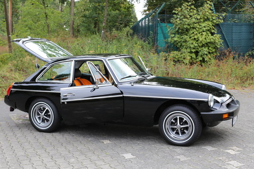 1980 Unique MG B GT with just 483 miles now fully registered.. SOLD (picture 6 of 6)
